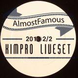 2013 2.2 Dj Kimpro [[ Live at AlmostFamous ]]