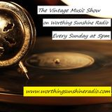 The Vintage Music Show 014 on Worthing Sunshine Radio