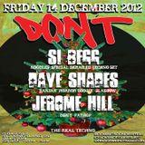 Si Begg @ Don't - Bar 512 London - 14.12.2012