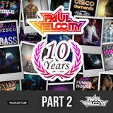 Part 2 House DJ Paul Velocity 10 Hour Live Stream Celebrating 10 Years on Youtube