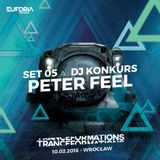 PETER FEEL live at TRANCEFORMATIONS 2018 - EUFORIA FESTIVALS (2018-02-10)