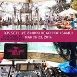 Asian Tour   Live on Radio Party Groove @ Nikki Beach   Koh Samui   Mirko Paoloni & Niko Deejay