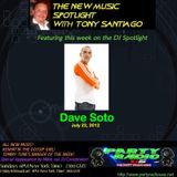 DAVE SOTO NYC PARTY RADIO USA JULY 22 / 12*