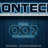 Podcast 002 mixed by Vontech ( Techno Session 2013 )