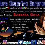 l'Artista Barbara Cola, gradita  ospite di Oltre Tutto Radio