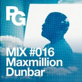 PlayGround Mix 016 - Maxmillion Dunbar