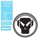 Fracture & Chimpo - The Metalheadz Show Interview + Mix, Rinse.fm 106.8, London_18.03.15