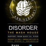 DISORDER PODCAST 003 PIPER@2ND ANNIVERSARY DISORDER CLUB