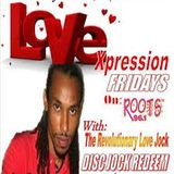 LOVEXPRESSION (on ROOTS 96.1 FM) - April 10, 2015 (Chit Chat with Teflon)