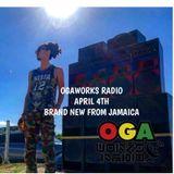 OGAWORKS RADIO April 4th 2018