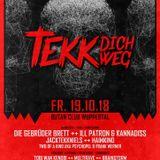 Brainstorm @ Tekk Dich Weg (Butan Club Wuppertal) 19.10.18