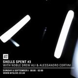 Shells Spent w/ Noble Drew Ali & Alessandro Cortini - 7th September 2015