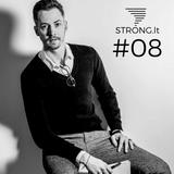 STRONG.lt podcast #08: Justinas Kisieliauskas