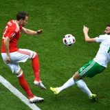 Wales - Northern Ireland 1st half starring Petar 'The Cock' Vasilev and Tomas Lafchis