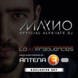 MAYNO Dj - Antena3 RadioShow 8 Março 2015 Low Frequencies Exclusive Set