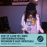 Dip It Low with SNO for International Woman's Day