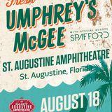 Umphrey's McGee @ St. Augustine Amphitheater (St. Augustine, FL) 8/18/2018