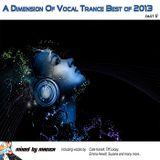 Mag1ca pres. A Dimension Of Vocal Trance Best of 2013 (part II)