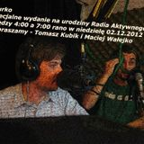 Biurko na urodziny Radia Aktywnego 2 grudnia 2012 r.