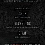 d:raf - Live @ Dungeon Volume 2, Timo's House, Asheville NC (Deep 70/140bpm bass music mix) 5/29/15