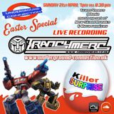 Tranc4mers Live on Underground-connection.uk Easter special