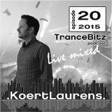 TranceBitz 20th episode 2015 (128-130bpm) mixed by Koert Laurens