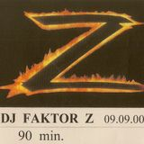"Dj Faktor Z - 2000 Trance mix on K7 for private party ""VIP 3"""