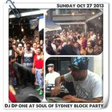 Soul of Sydney #126: DJ DP ONE (Brooklyn NYC) Live at Soul of Sydney Block Party (Oct 27 13) Part 1