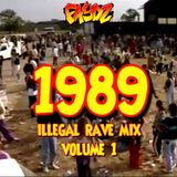 1989 Illegal Rave Mix #1 - DJ Faydz
