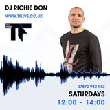 TF Live - DJ Richie Don presents the Saturday Showcase 30-09-2017 12:00 - 14:00