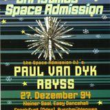 PAUL VAN DYK @ Christmas Space Admission @ Frankfurt (Oder):27-12-1994