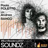SoundzRise pres #BurnResidency 006 by PAOLA POLETTO b2b ANDREA RANGO