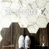 Residente X Church Label