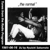 Tunes from the Radio Program, DJ by Ryuichi Sakamoto, 1981-06-16 (2014 Compile)