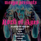 menyu presents: rock of ages