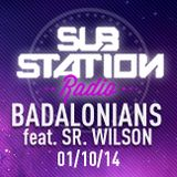BADALONIANS FEAT. SR. WILSON ● Set + entrevista en Substation Radio On Line ● OCTUBRE 2014