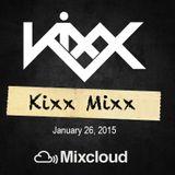 Kixx Mixx 1/26/15
