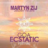☆☆☆ GOA Ecstatic Dance Festival 2018 ☆ Dj Martyn Zij ☆ 11-01-2018 ☆☆☆
