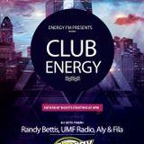 DJ Randy Bettis presents:  Energy FM Mixshow, Episode 1