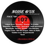 """Noise r'us # 107 """"face on"""" (Novembre 2016)"""