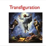Transfiguration (SOW on Readings of Sun - Aug 6 2017) - Fr. James McTavish, FMVD)