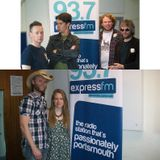 Russell Hill's Country Music Show on Express FM feat. The Mantic Muddlers + The Rosellys. 15/05/16