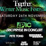 Eric Prydz (Pryda Records) @ Together Winter Music Festival, Alexandra Palace - London (26.11.2011)