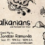 Jonatan Ramonda @  Balkanians Show on Proton Radio 17_09_11