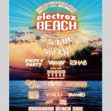 DJ TAKU-HERO&Koji Kubota electrox Beach Osaka MIX