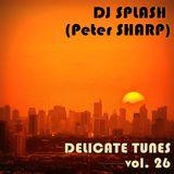 Dj Splash (Peter Sharp) - Delicate tunes vol.26 2017