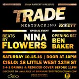 Live - Trade Meatpacking @ Cielo NYC (10.15.2016)
