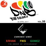 HMSU Radio Present-The Colours Of Drum and Bass vol.56-Chronic Vibez night with Krivak, Fiks, Gomez