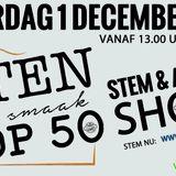 Eten Met Smaak Top 50 Stem & Advies Show - 01-12-2018