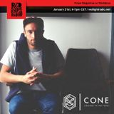 Cone Magazine @ Red Light Radio w/ Mallaban 21-1-2017